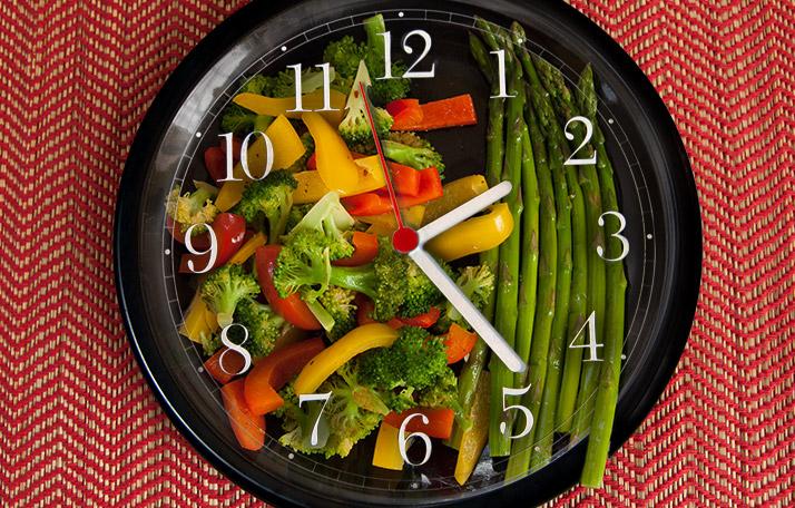 Диета по времене приемы пищи