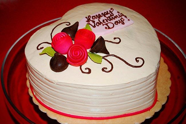 Фото тортов ко дню св.валентина